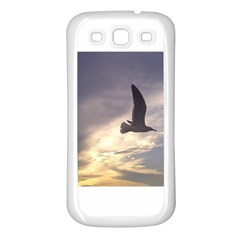 Seagull 1 Samsung Galaxy S3 Back Case (White)