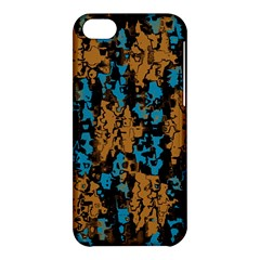 Blue brown texture			Apple iPhone 5C Hardshell Case