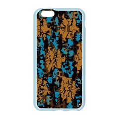 Blue brown textureApple Seamless iPhone 6/6S Case (Color)