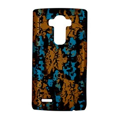Blue Brown Texturelg G4 Hardshell Case