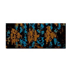 Blue brown texture			Hand Towel