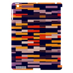 Rectangles in retro colors			Apple iPad 3/4 Hardshell Case (Compatible with Smart Cover)