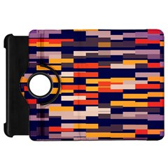Rectangles in retro colorsKindle Fire HD Flip 360 Case