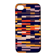 Rectangles in retro colorsApple iPhone 4/4S Hardshell Case with Stand