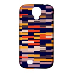 Rectangles in retro colors			Samsung Galaxy S4 Classic Hardshell Case (PC+Silicone)