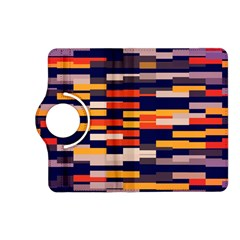 Rectangles in retro colorsKindle Fire HD (2013) Flip 360 Case