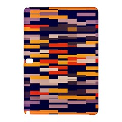 Rectangles In Retro Colorssamsung Galaxy Tab Pro 10 1 Hardshell Case