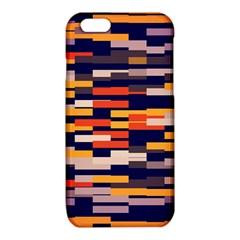 Rectangles in retro colorsiPhone 6/6S TPU Case