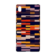 Rectangles in retro colors			Sony Xperia Z3+ Hardshell Case