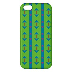 Arrows and stripes pattern			iPhone 5S Premium Hardshell Case