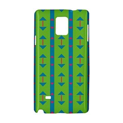 Arrows And Stripes Patternsamsung Galaxy Note 4 Hardshell Case