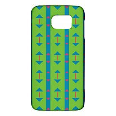 Arrows and stripes pattern			Samsung Galaxy S6 Hardshell Case