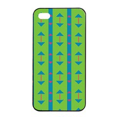 Arrows and stripes pattern			Apple iPhone 4/4s Seamless Case (Black)