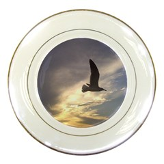 Fly Seagull Porcelain Plates