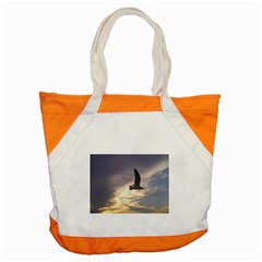 Fly Seagull Accent Tote Bag