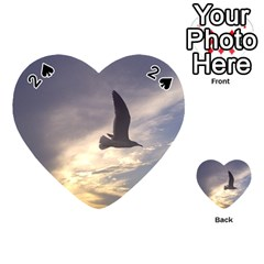 Fly Seagull Playing Cards 54 (Heart)