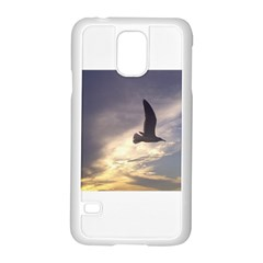 Fly Seagull Samsung Galaxy S5 Case (White)