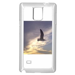 Fly Seagull Samsung Galaxy Note 4 Case (White)