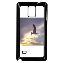 Fly Seagull Samsung Galaxy Note 4 Case (Black)