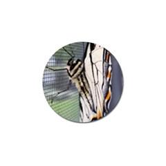 Butterfly 1 Golf Ball Marker (10 pack)