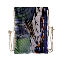 Butterfly 1 Drawstring Bag (small)