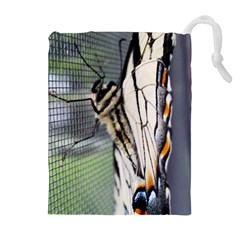 Butterfly 1 Drawstring Pouches (extra Large)