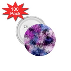 Shabby Floral 2 1.75  Buttons (100 pack)