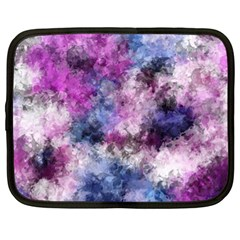 Shabby Floral 2 Netbook Case (XL)
