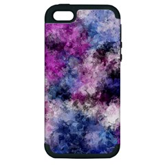 Shabby Floral 2 Apple iPhone 5 Hardshell Case (PC+Silicone)
