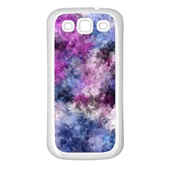 Shabby Floral 2 Samsung Galaxy S3 Back Case (White)