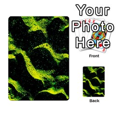 Green Northern Lights Multi Purpose Cards (rectangle)