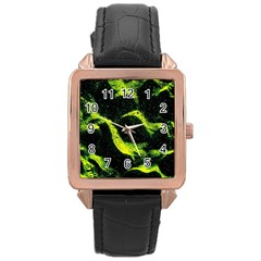 Green Northern Lights Rose Gold Watches