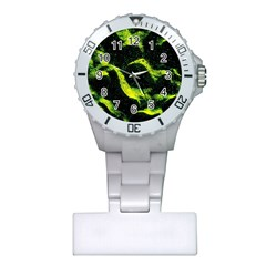 Green Northern Lights Nurses Watches