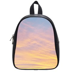 Yellow Blue Pastel Sky School Bags (Small)