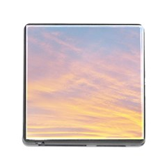 Yellow Blue Pastel Sky Memory Card Reader (Square)
