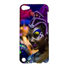 Costumed Attractive Dancer Woman at Carnival Parade of Uruguay Apple iPod Touch 5 Hardshell Case