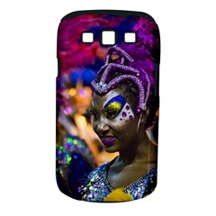 Costumed Attractive Dancer Woman at Carnival Parade of Uruguay Samsung Galaxy S III Classic Hardshell Case (PC+Silicone)