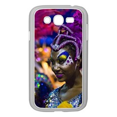 Costumed Attractive Dancer Woman at Carnival Parade of Uruguay Samsung Galaxy Grand DUOS I9082 Case (White)