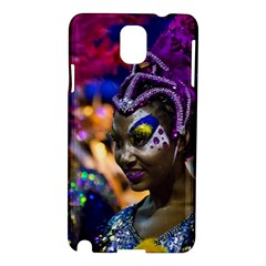 Costumed Attractive Dancer Woman at Carnival Parade of Uruguay Samsung Galaxy Note 3 N9005 Hardshell Case