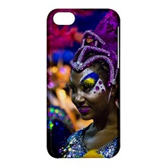 Costumed Attractive Dancer Woman at Carnival Parade of Uruguay Apple iPhone 5C Hardshell Case