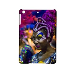 Costumed Attractive Dancer Woman at Carnival Parade of Uruguay iPad Mini 2 Hardshell Cases