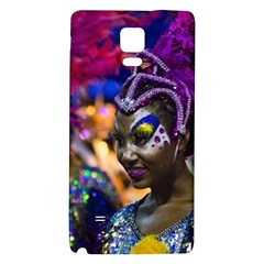 Costumed Attractive Dancer Woman at Carnival Parade of Uruguay Galaxy Note 4 Back Case