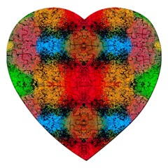 Colorful Goa   Painting Jigsaw Puzzle (Heart)