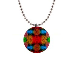 Colorful Goa   Painting Button Necklaces
