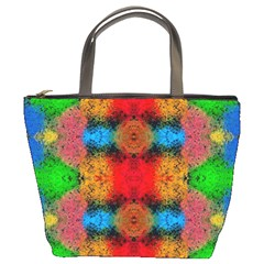 Colorful Goa   Painting Bucket Bags