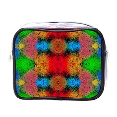 Colorful Goa   Painting Mini Toiletries Bags
