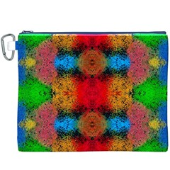 Colorful Goa   Painting Canvas Cosmetic Bag (xxxl)