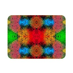 Colorful Goa   Painting Double Sided Flano Blanket (Mini)