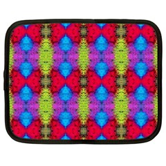 Colorful Painting Goa Pattern Netbook Case (xxl)