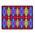 Colorful Painting Goa Pattern Fleece Blanket (Small) 50 x40 Blanket Front